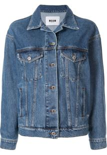 Msgm Classic Denim Jacket - Bl