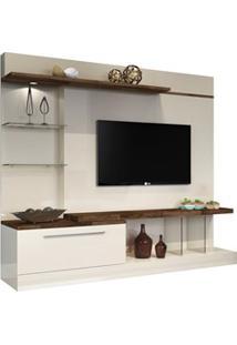 Estante Home Theater Para Tv Até 60 Pol. Allure Off White/Deck - Hb Mó