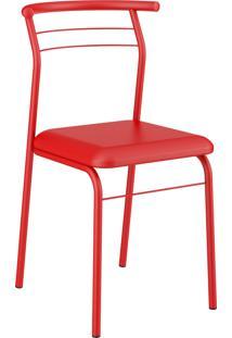 Kit 2 Cadeiras 1708 Napa Vermelho Real Carraro Mã³Veis - Vermelho - Dafiti