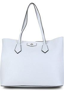 Bolsa Capodarte Shopper Soft Relax Feminina - Feminino-Azul Claro