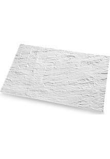 Tábua Retangular - Stone 52,5 X 32,5 X 1 Cm Branco Haus Haus