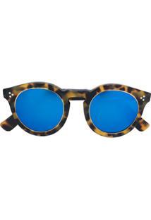 21374259d8951 ... Illesteva Óculos De Sol  Leonard 2 Ring  Espelhado - Marrom
