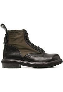 Buttero Cargo Ankle Boots - Preto
