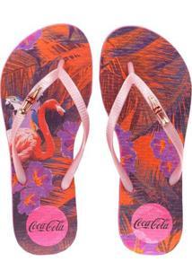 Sandália Feminina Coca Colatropical Summer