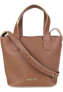 Bolsa Anacapri Mini Bag Eco Ravena Feminina - Feminino-Marrom