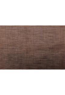 Jogo Americano Textilene 45X30Cm Brunch Marrom