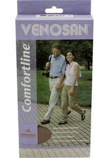 Meia Calça Venosan Confortline 20-30 Mmhg G (Tamanho Grande) Longo, Cor Bege, Ponteira Aberta