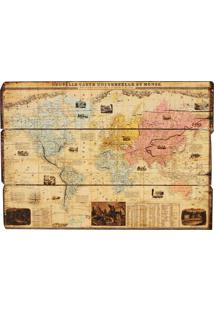 Quadro Decorativo Vintage De Parede Atlas