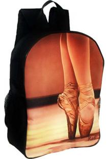 Mochila Rafi Ballet Preto