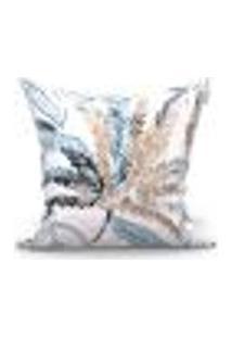 Capa Para Almofada Vivarti Azul 45X45 Cm