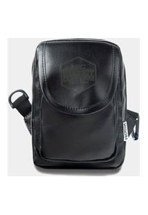 Shoulder Bag Mxc Brasil Mini Bolsa Lateral Ombro Necessaire Transversal Preto
