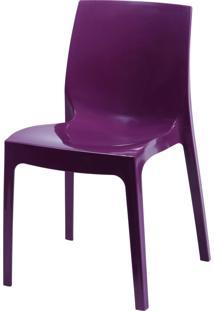 Cadeira Ice Roxo Or Design