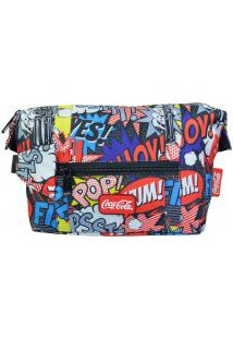 Necessaire Coca-Cola Pop 7113717 Colorida