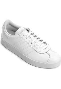 Tênis Adidas Vl Court 2 W Feminino - Feminino-Branco