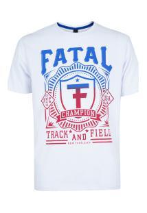 Camiseta Fatal Estampada 20284 - Masculina - Branco