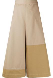 Loewe Flared Culotte Trousers - Neutro