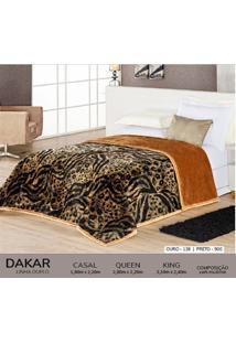 Cobertor King Dupla Face Duplo - Dakar