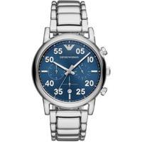 9f777c122 Relógio Empório Armani Masculino Luigi - Ar11132/1Kn Ar11132/1Kn -  Masculino-Prata