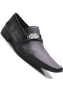Sapato Social Couro Verniz Pierutti Masculino - Masculino-Marrom