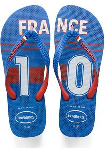 Chinelo Masculino Copa Do Mundo França Teams Havaianas