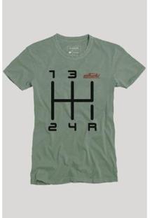 Camiseta Quinta Marcha Reserva Masculina - Masculino-Verde