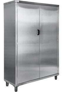 Armário Vertical De Materiais De Limpeza Avdml Aço Inox 304 Atual Inox