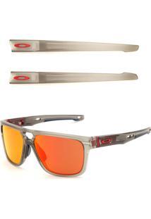 Óculos De Sol Oakley Crossrange Patch Cinza