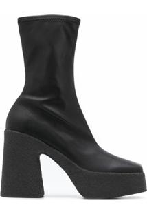 Stella Mccartney Ankle Boot Clássica - Preto