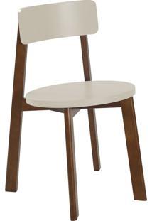 Cadeira Lina 75 Cm 941 Cacau/Marrom Claro - Maxima