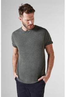 Camiseta Reserva T Mescla - Masculino-Verde Militar