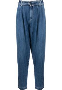 P.A.R.O.S.H. Calça Jeans Cenoura - Azul