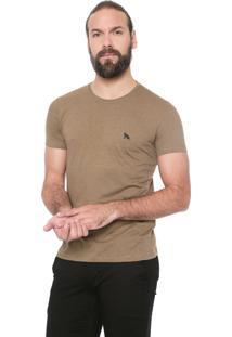 Camiseta Acostamento Listras Caramelo