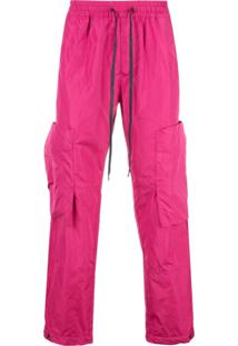 Vivienne Westwood Anglomania Drawstring Cargo Trousers - Rosa