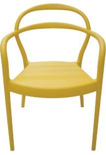 Cadeira Sissi Com Braço Amarela Summa - Tramontina