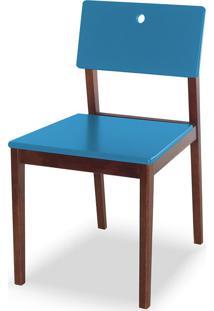 Cadeira Flip 81 Cm 921 Cacau/Azul - Maxima