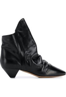 Isabel Marant Ankle Boot Clássica - Preto