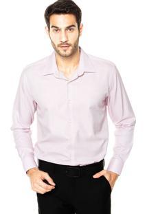 Camisa Vr Botões Rosa