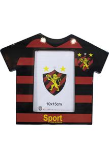 Porta Retrato Minas De Presentes Camisa Futebol Foto 10X15Cm - Sport Club Colorido