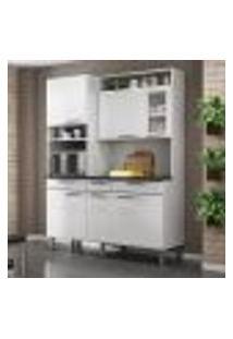 Cozinha Compacta Regina L 6 Pt 3 Gv Branca 155 Cm