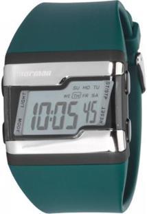 514fad1752a ... Relógio Feminino Mormaii Troca Pulseira Digital - Unissex-Azul Petróleo