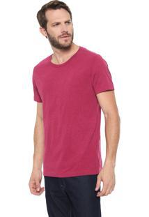 Camiseta Calvin Klein Básica Pink