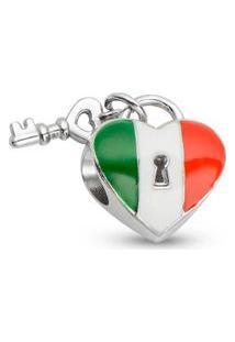 Pingente Life Coração Italiano