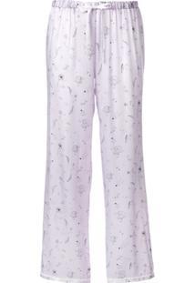 Morgan Lane Calça De Pijama Chantal Floral - Roxo