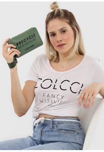 Clutch Colcci Califã³Rnia Eco Soul Verde - Verde - Feminino - Dafiti
