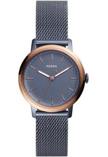 Relógio Fossil Neely Feminino - Feminino-Azul