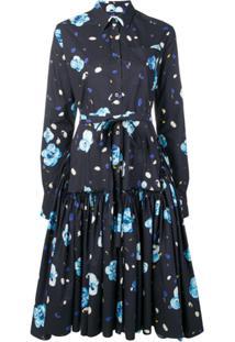 Marni Chemise Floral - Azul