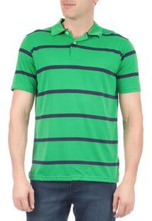 ee4338ce7bab8 Camisaria Colombo. Polo Verde Masculina Colombo Sarja Poliester Moderna Listras  Camisa
