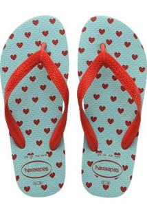 8723ef8e7c86fa Zattini Chinelo Havaianas Color Fun Feminino - Feminino-Vermelho+Azul