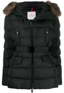 Moncler Clion Down Jacket - Preto