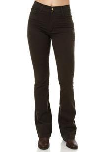 Calça Jeans Feminina Sawary Verde